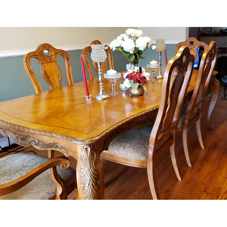 Raymour & Flanigan 7 Piece Dining Set - image-1