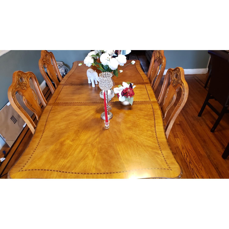 Raymour & Flanigan 7 Piece Dining Set - image-2
