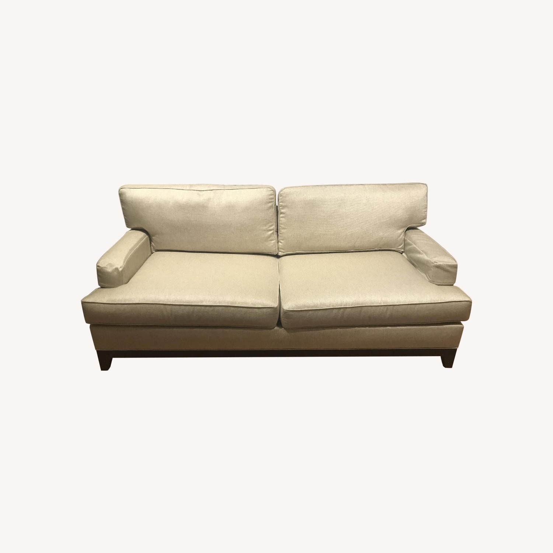 Ethan Allen Bennett Beige Sofa