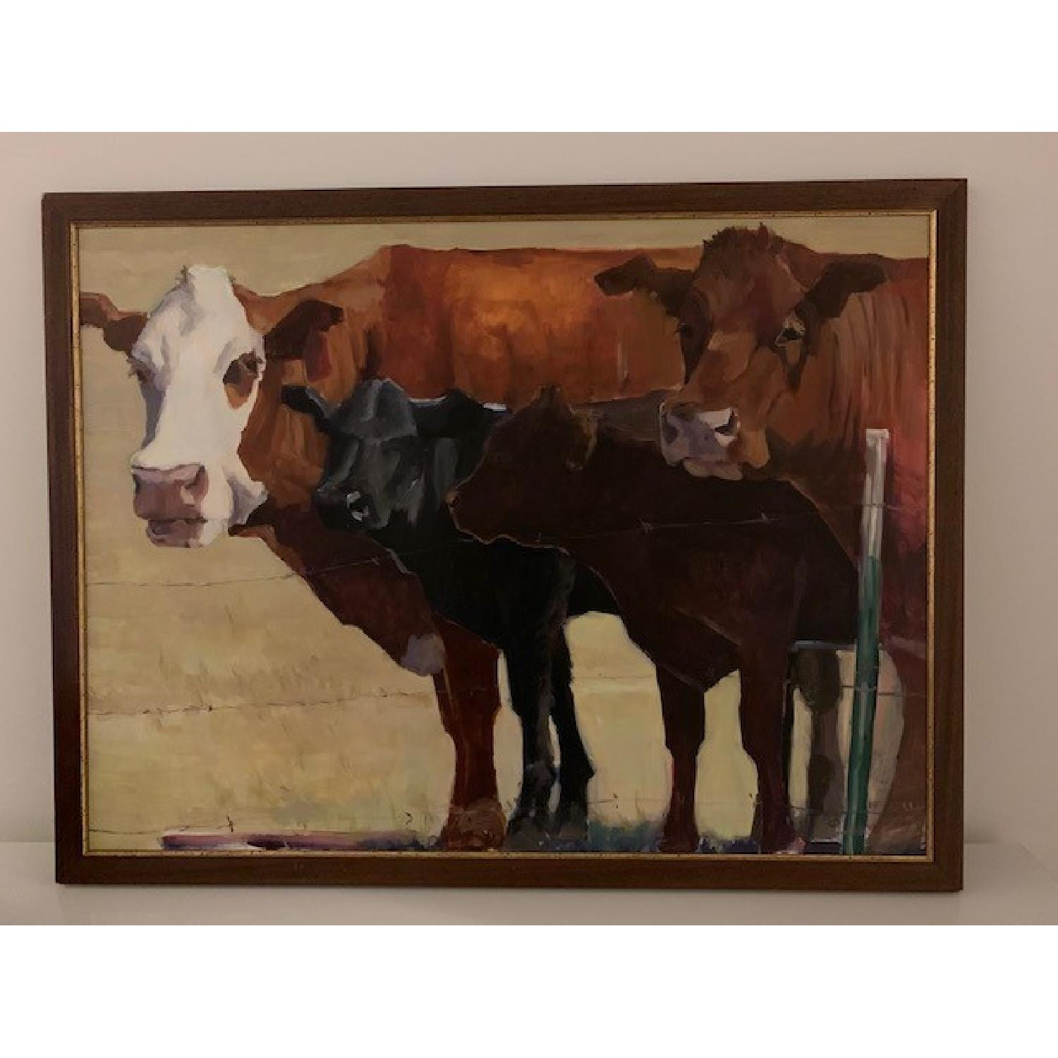 Heather Foster Oil Painting - 285 Line Up - image-1