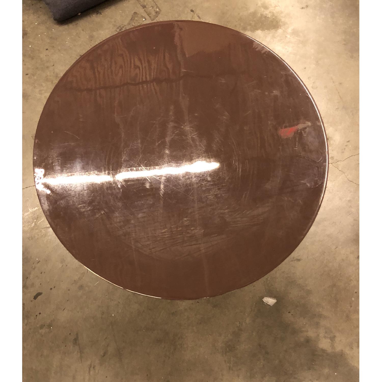 West Elm Enamel Round Nesting Side Tables - image-4