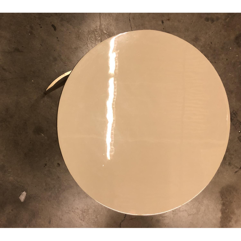West Elm Enamel Round Nesting Side Tables - image-8