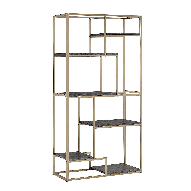 Furniture of America Contemporary 6 Shelf Bookcases - image-0
