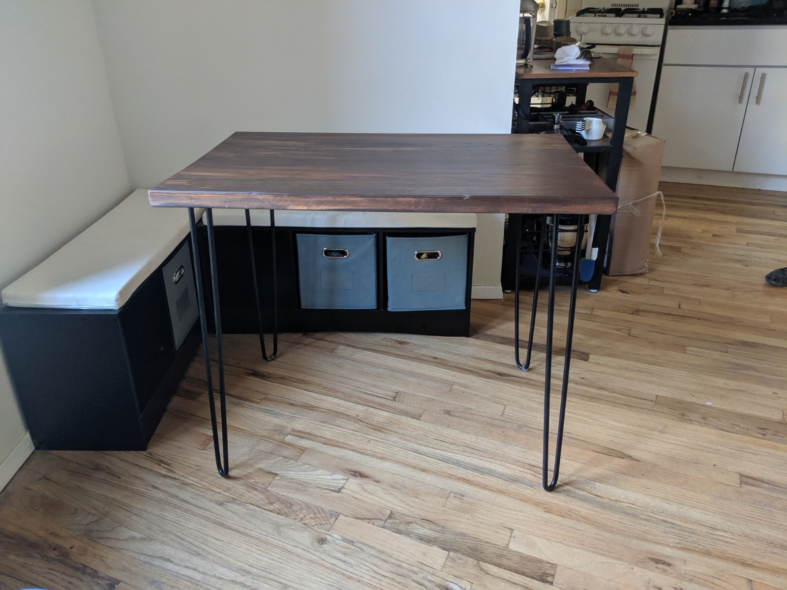 Modern Rustic Dinette Kitchen Table