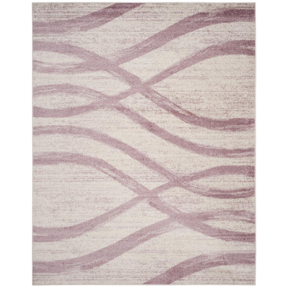 Safavieh Purple/Cream Carpet