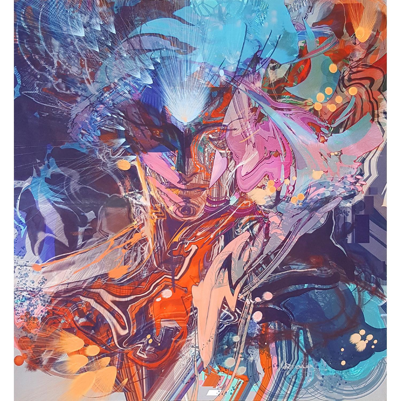 Urba Art/Pop Art Mental Super Nova Canvas Print - image-0