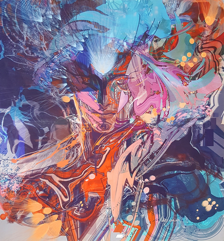 Mental Super Nova Canvas Print