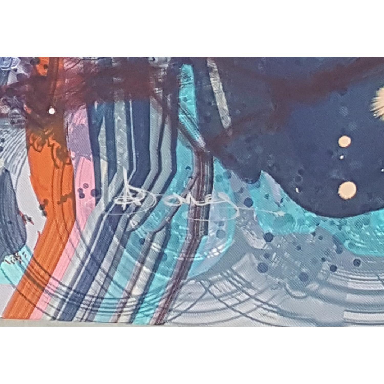 Urba Art/Pop Art Mental Super Nova Canvas Print - image-2