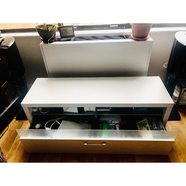 BoConcept White Media Unit/TV Console - image-2