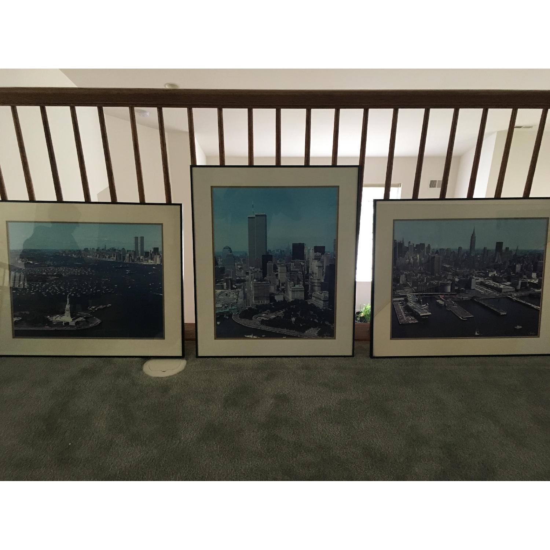 Pre 9/11 New York City Signed & Framed Original Photographs - image-3