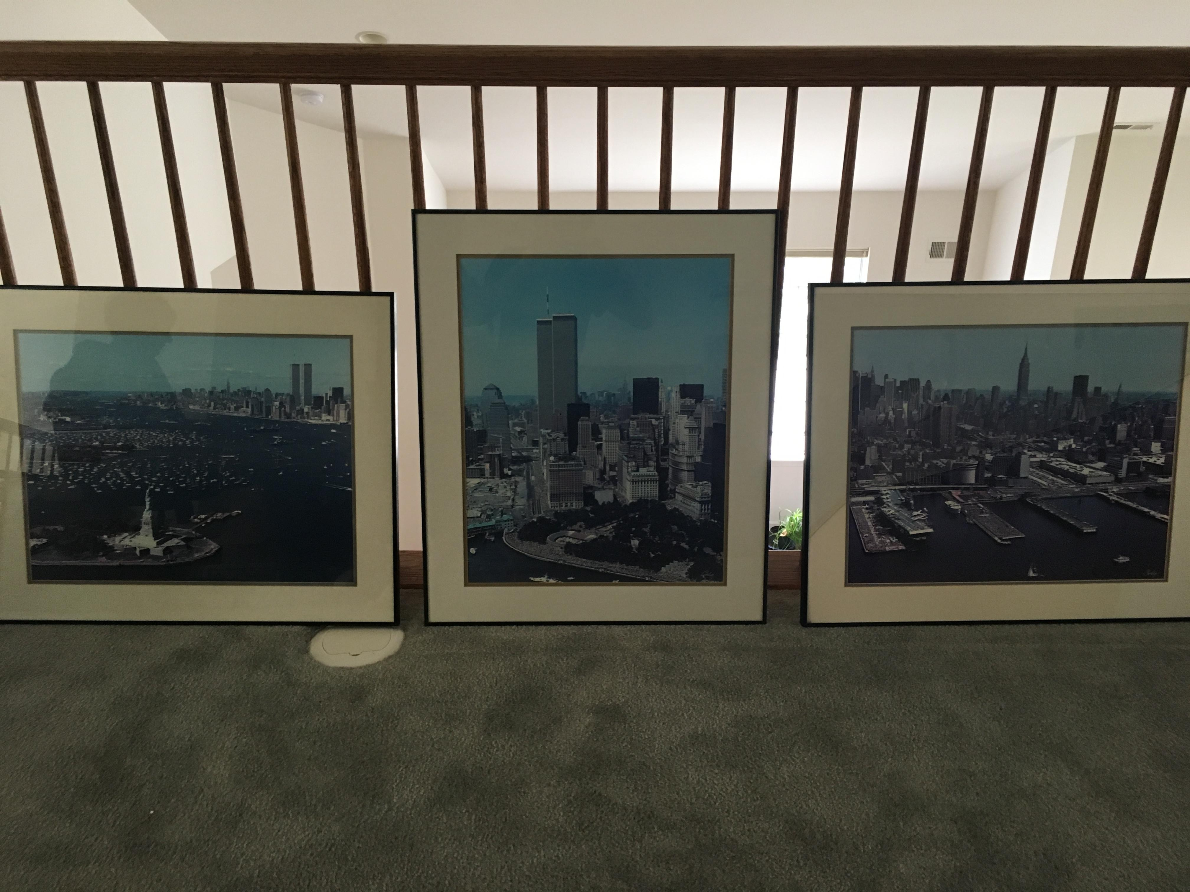 Pre 9/11 New York City Signed & Framed Original Photographs