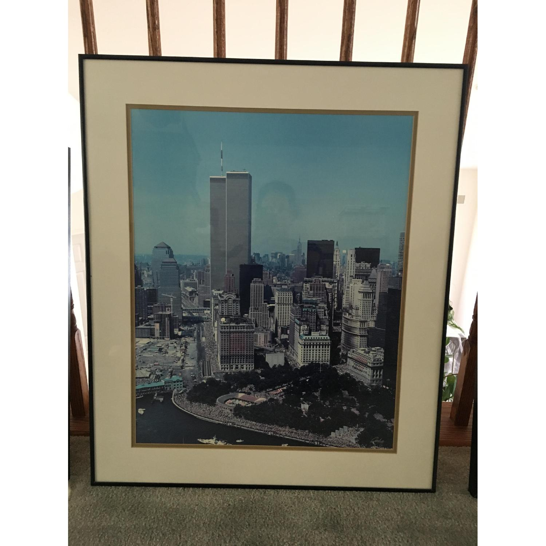 Pre 9/11 New York City Signed & Framed Original Photographs - image-2