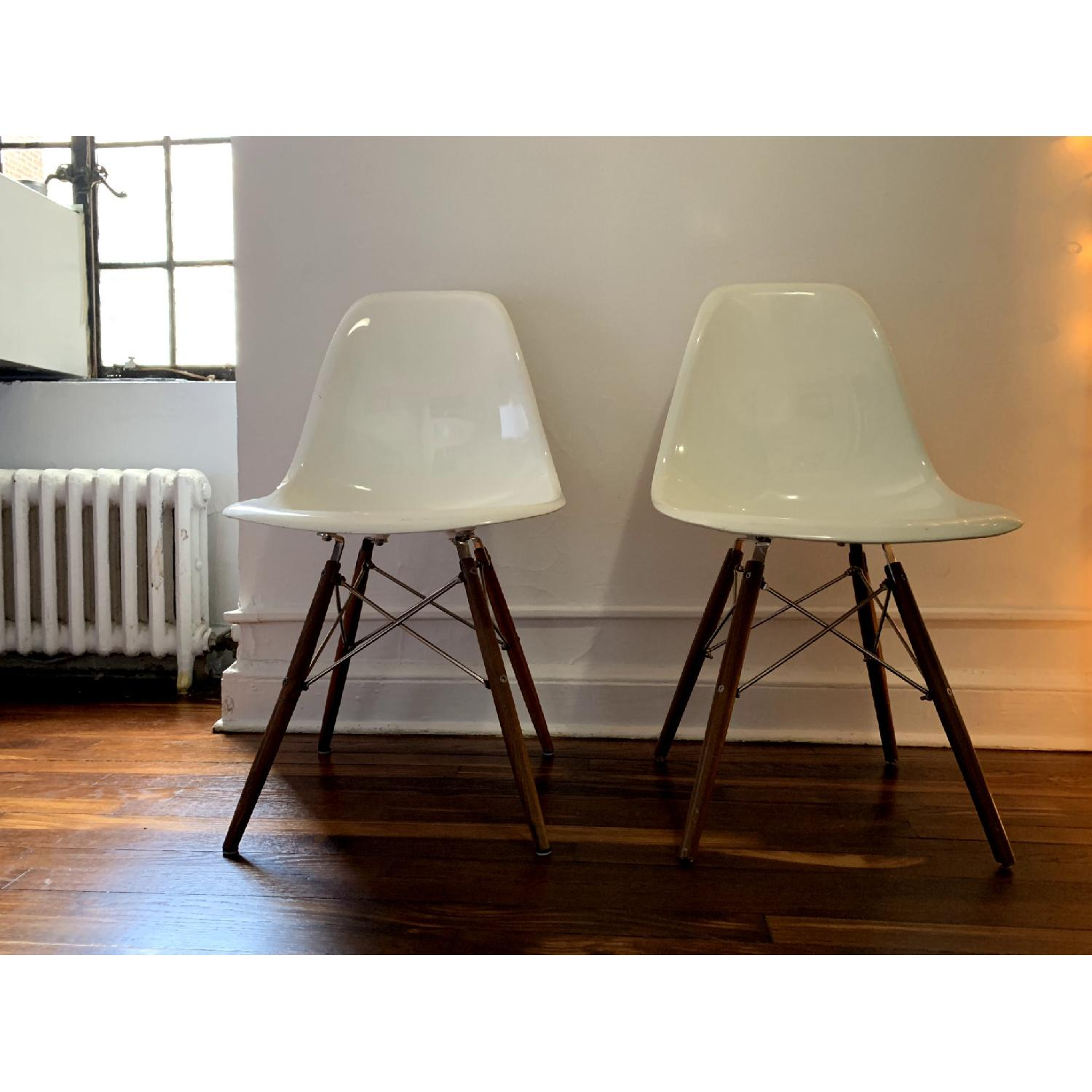 Organic Modernism Eames-Style Side Chairs - image-1