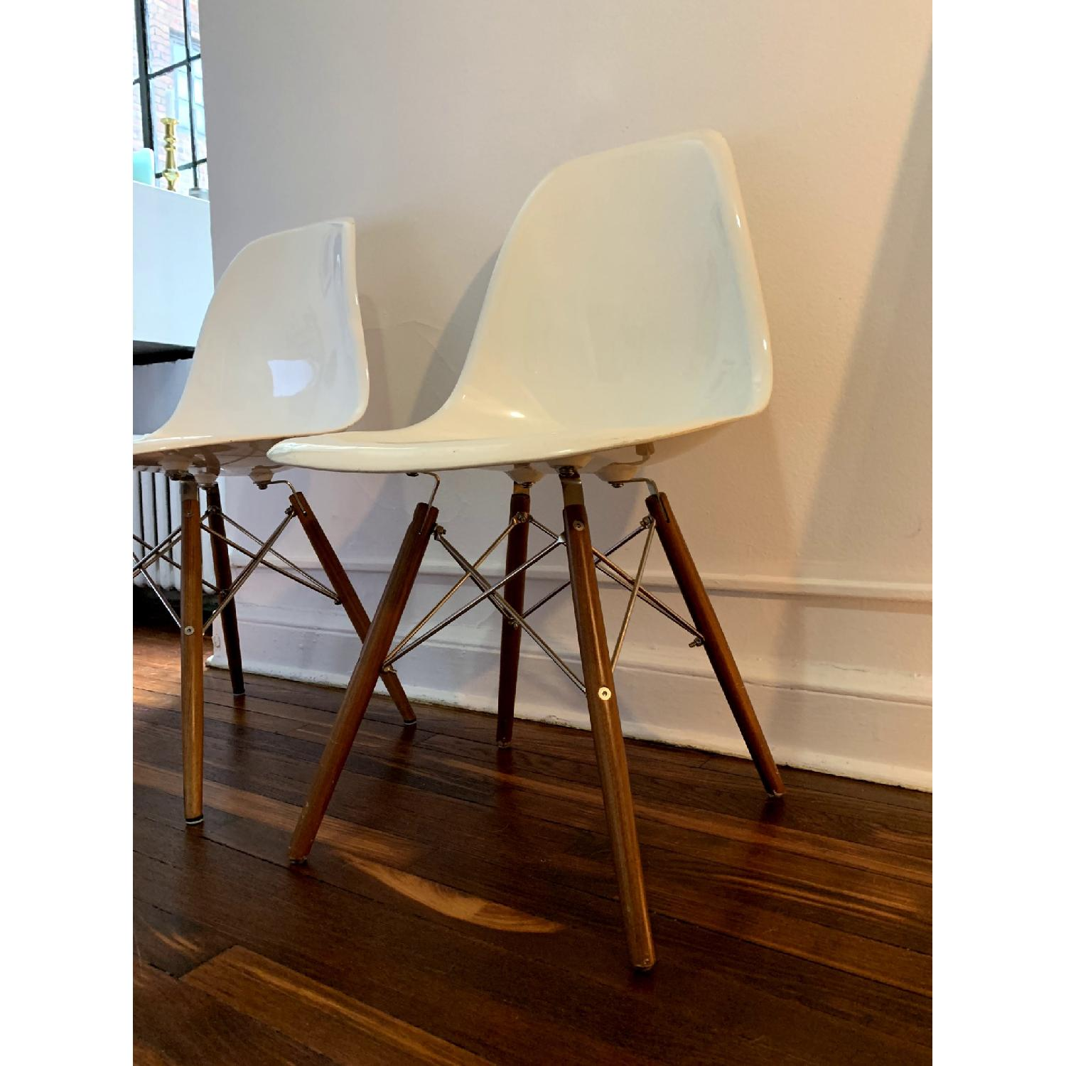 Organic Modernism Eames-Style Side Chairs - image-2