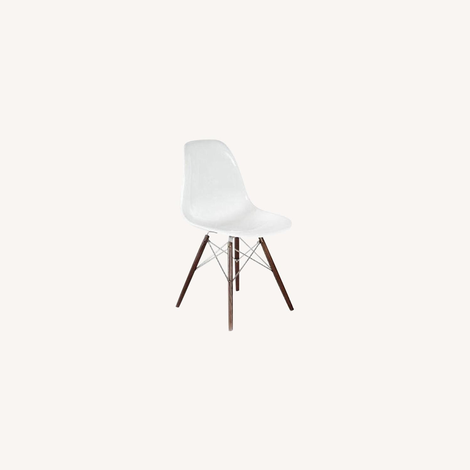 Organic Modernism Eames-Style Side Chairs - image-0
