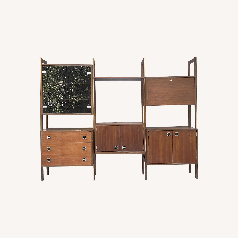 Mid-Century Wall Unit/Modular Freestanding Room Divider