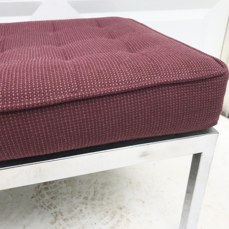 Mid-Century Knoll Style Three Seat Bench - image-10