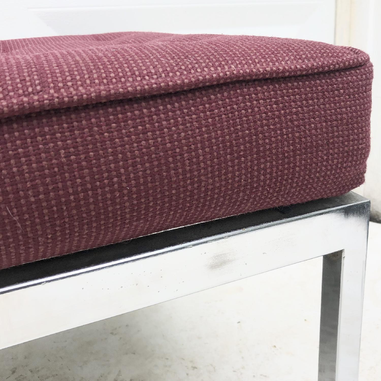 Mid-Century Knoll Style Three Seat Bench - image-6
