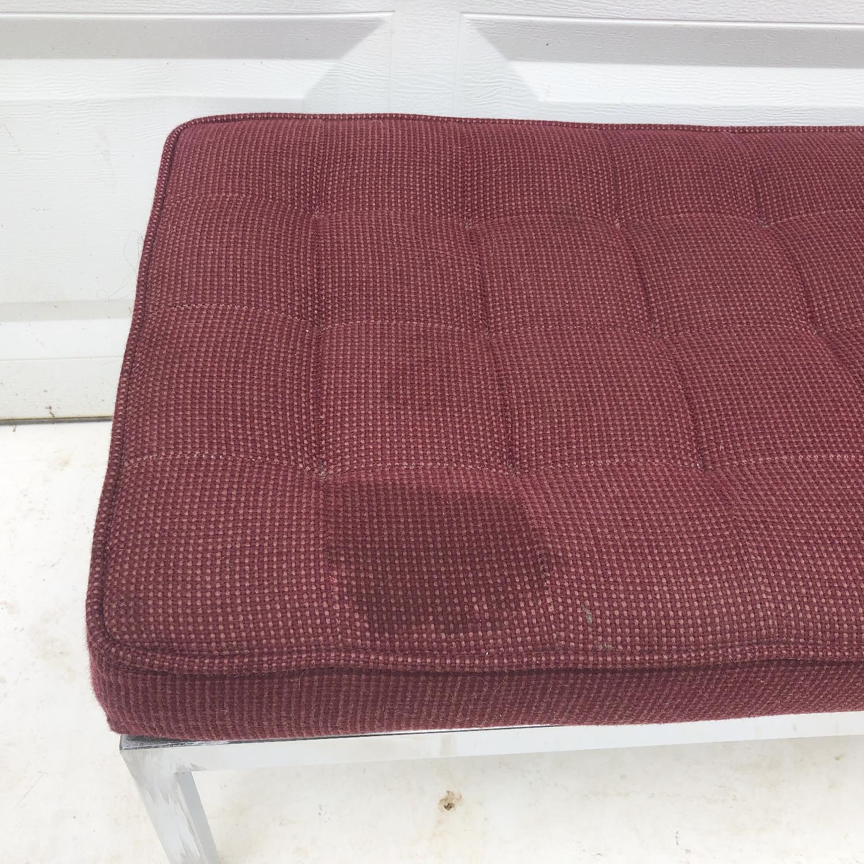 Mid-Century Knoll Style Three Seat Bench - image-12