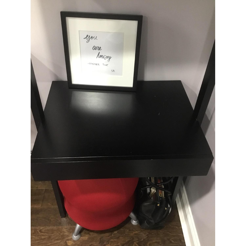 Crate & Barrel Leaning Desk - image-3