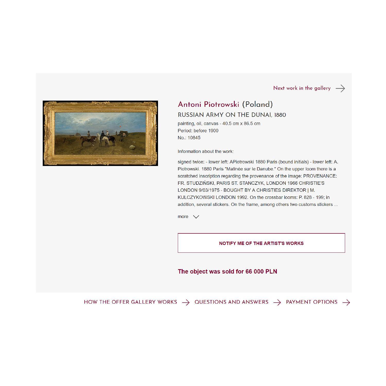 Provenance Christie's London Auction House of Polish General - image-3