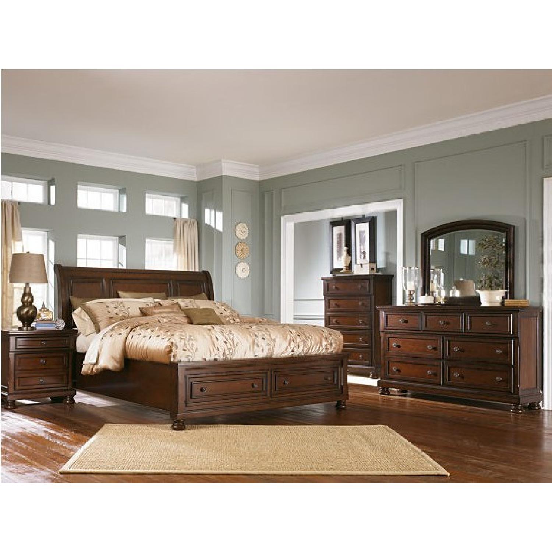Ashley Porter King Storage Bed - image-5