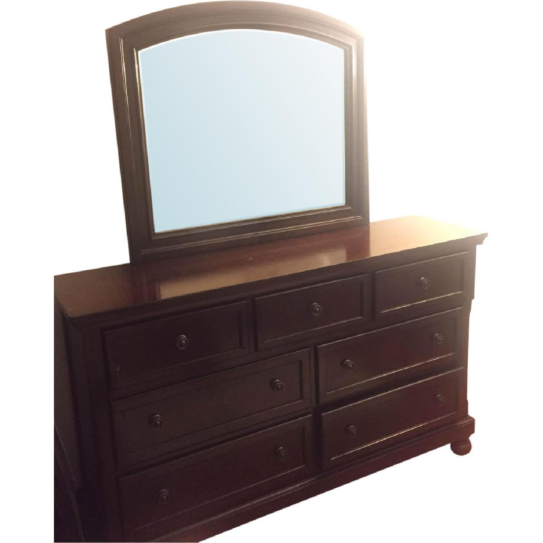 Ashley Porter Dresser w/ Mirror - image-2