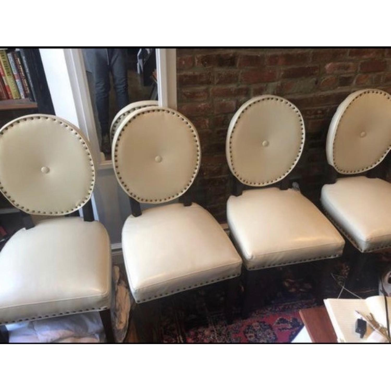 Pier 1 Cadence Ivory Dining Chair - image-1