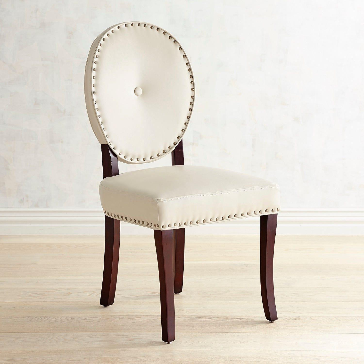 Pier 1 Cadence Ivory Dining Chair - image-2