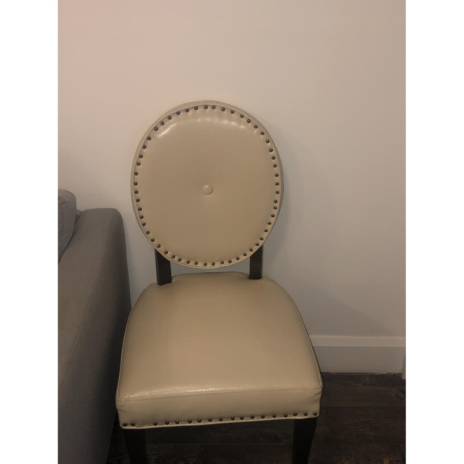 Pier 1 Cadence Ivory Dining Chair - image-3
