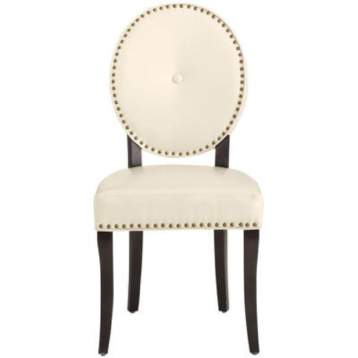 Pier 1 Cadence Ivory Dining Chair - image-0
