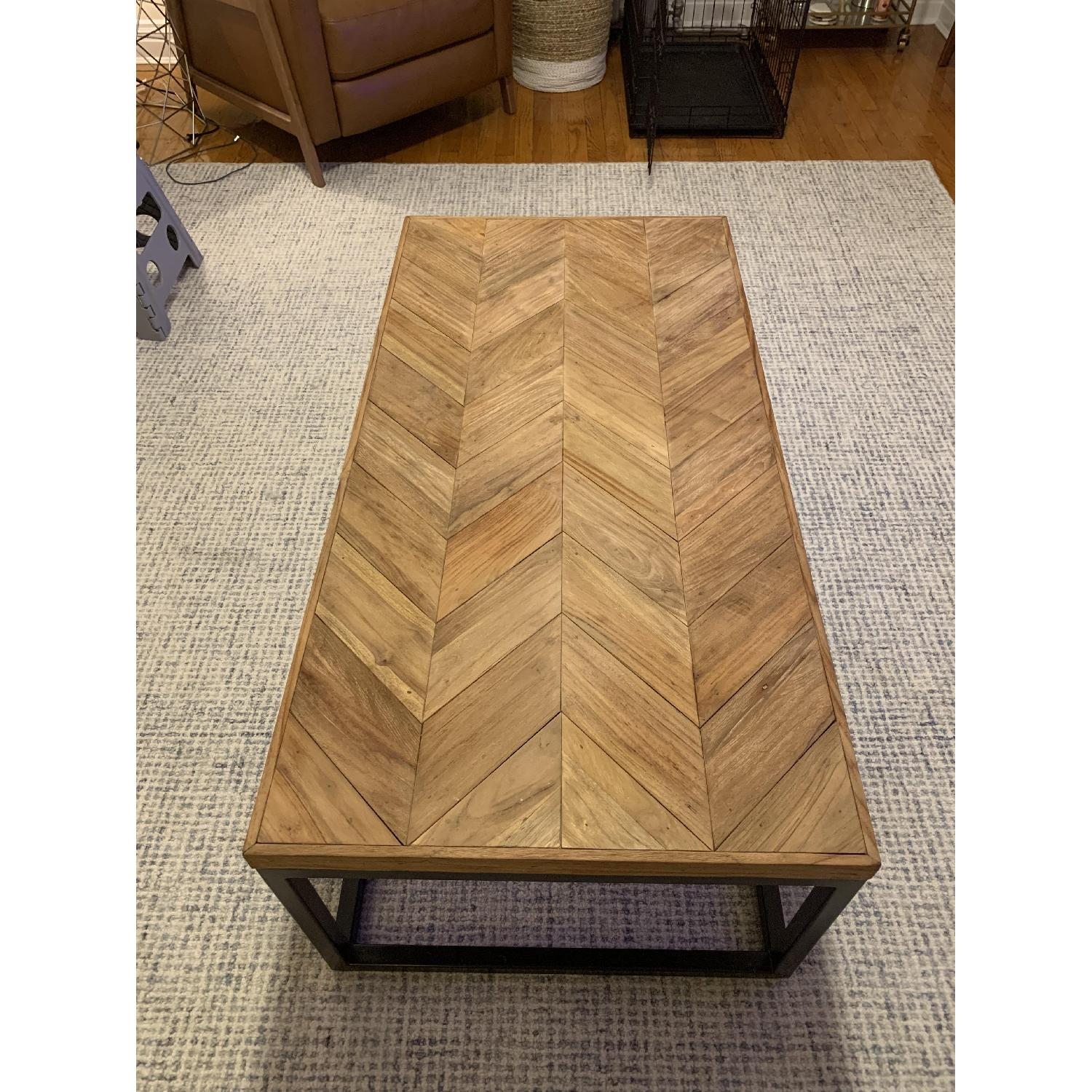 Crate & Barrel Dixon Coffee Table - image-3