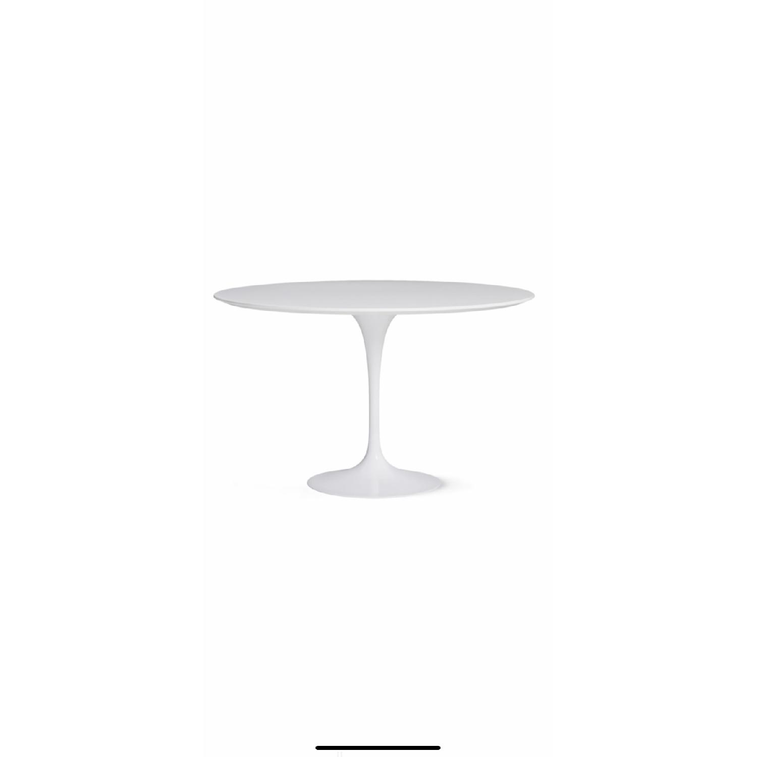 Design Within Reach Saarinen Round Dining Table w/ 6 Chairs - image-1