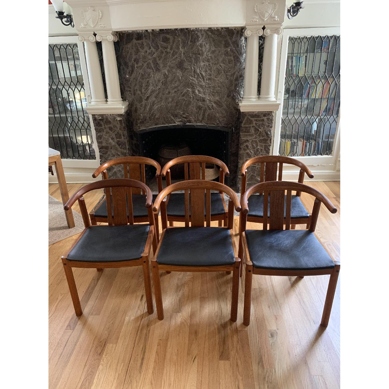 Mid-Century Danish Teak Dining Chairs - image-0