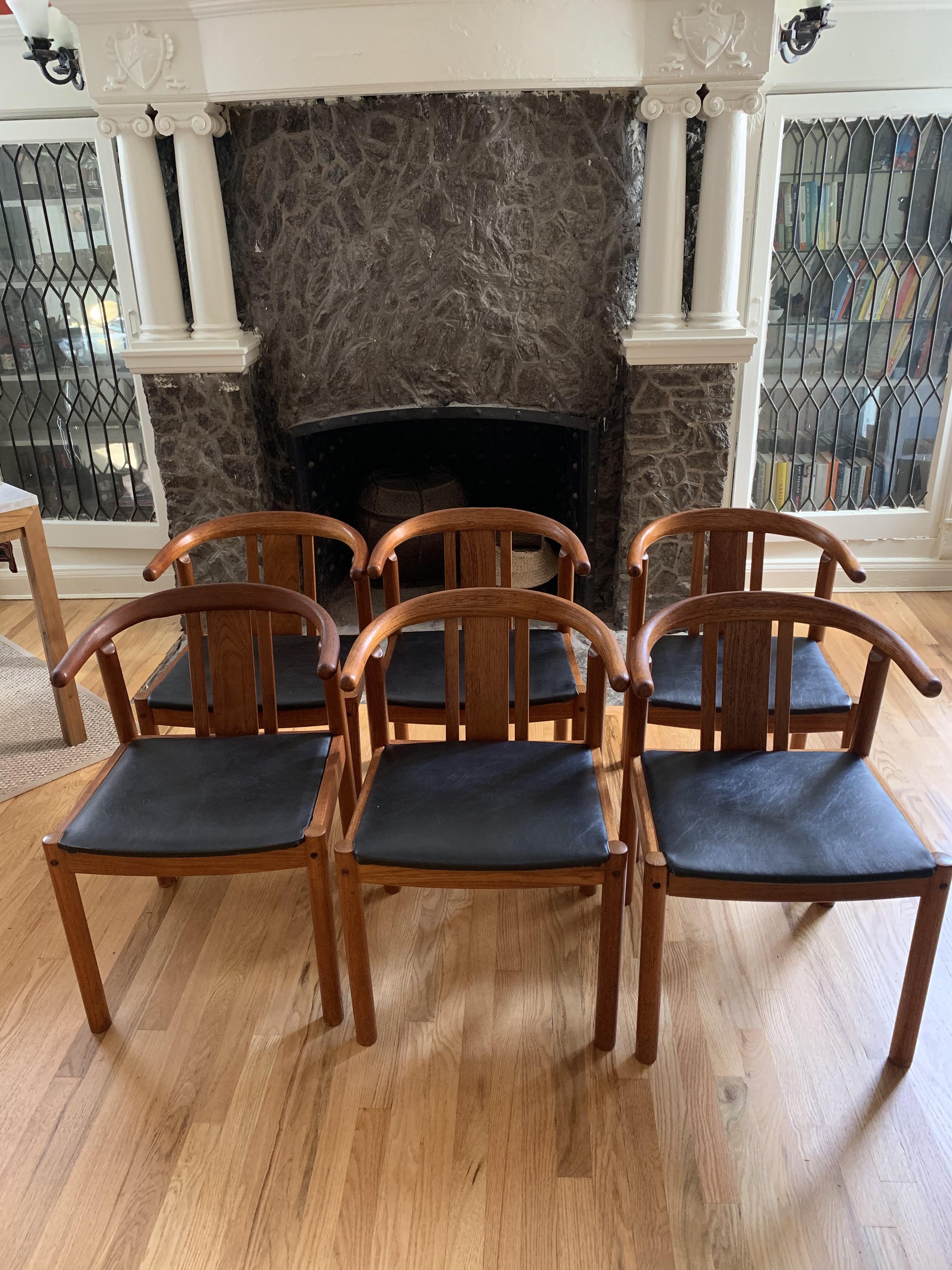 Mid-Century Danish Teak Dining Chairs