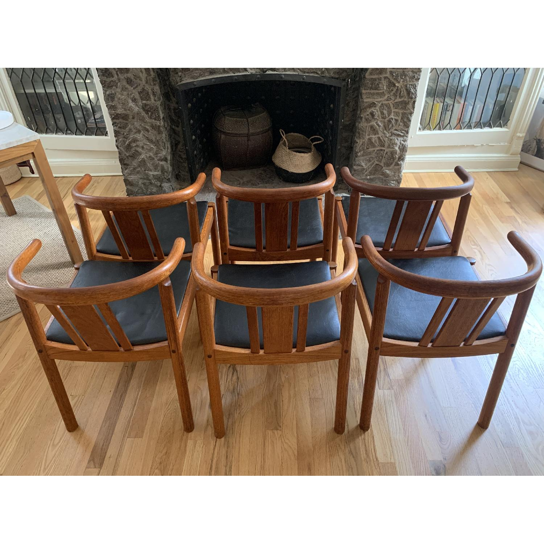 Mid-Century Danish Teak Dining Chairs - image-2