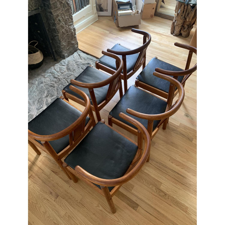 Mid-Century Danish Teak Dining Chairs - image-3
