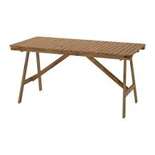 Ikea Falholmen Outdoor Table w/ 6 Matching Chairs