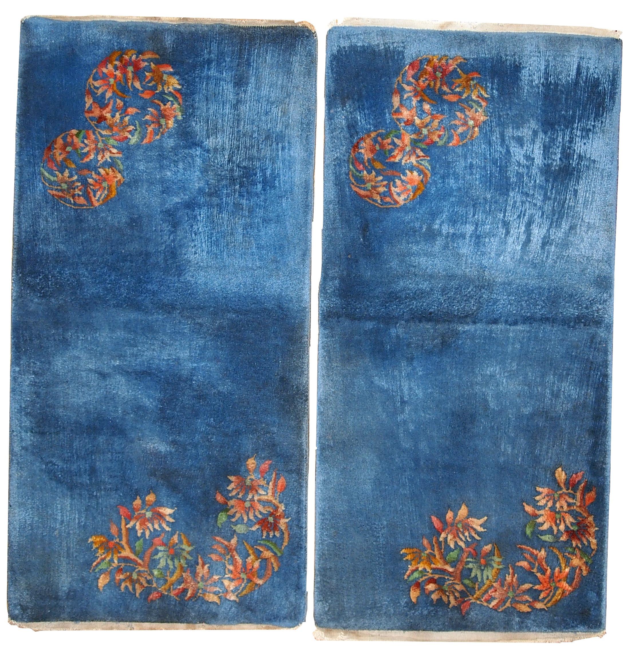 Handmade Vintage Art Deco Chinese Rugs