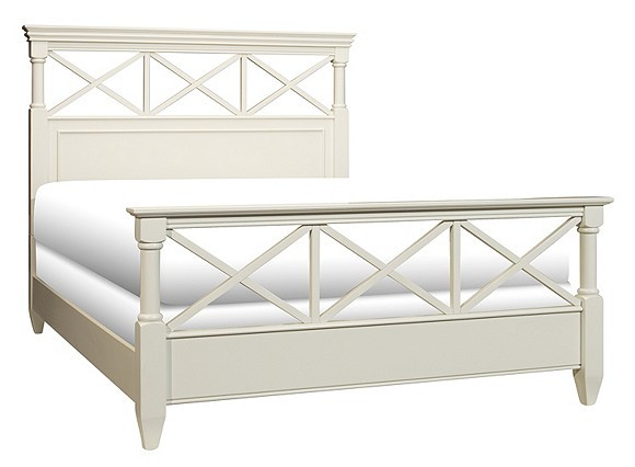 Raymour & Flanigan Retreat Queen Panel Bed