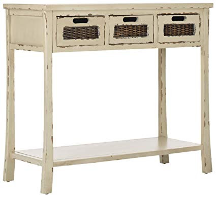 Safavieh Autumn Vintage 3 Drawer Console Table