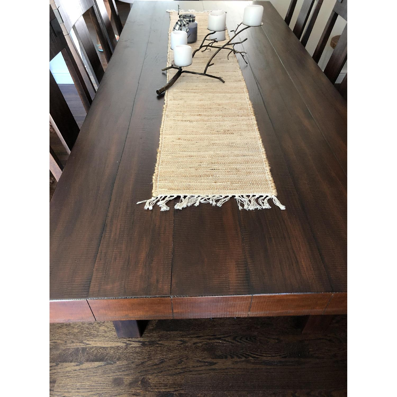 Pier 1 Dining Table w/ 6 Chairs - image-1