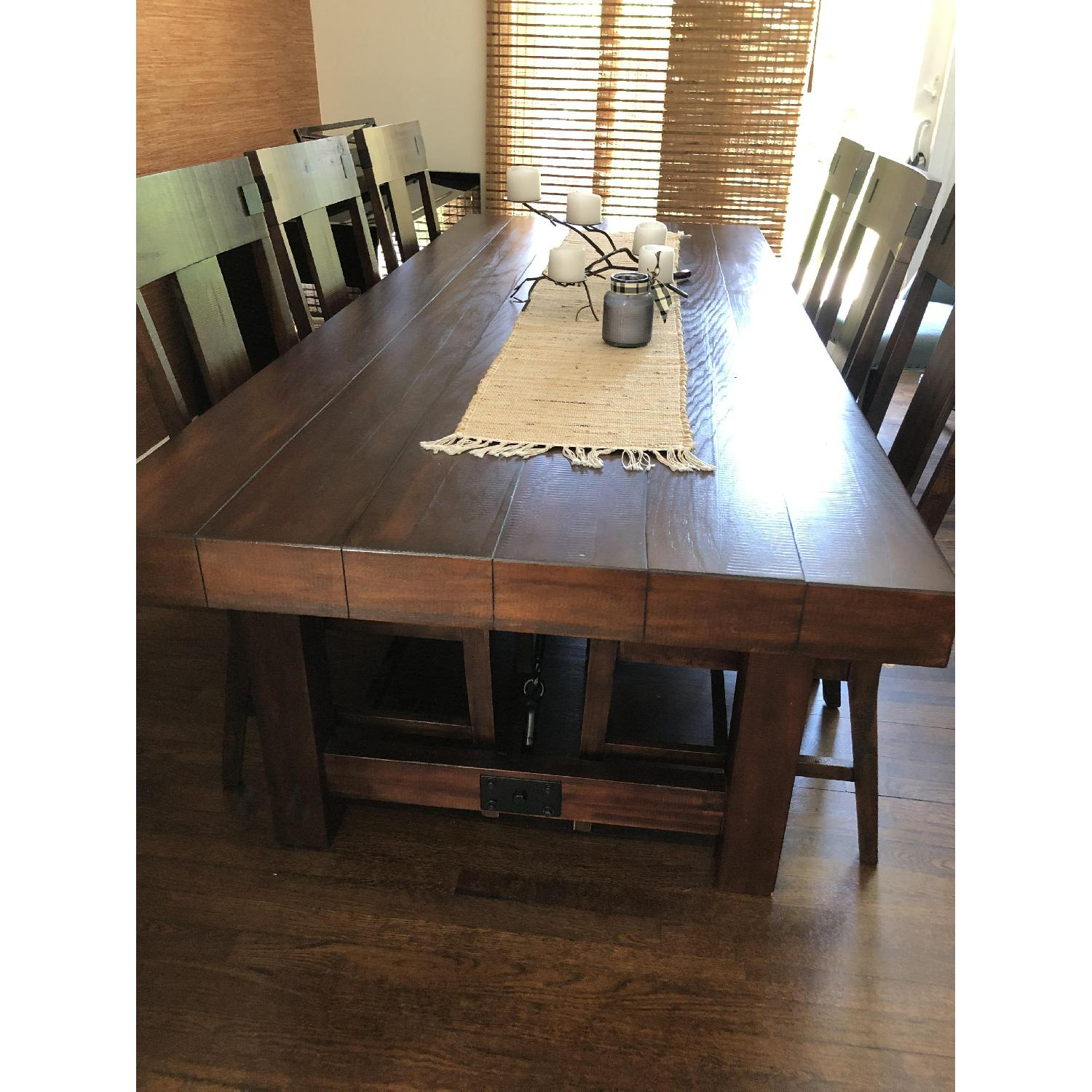 Pier 1 Dining Table w/ 6 Chairs - image-3
