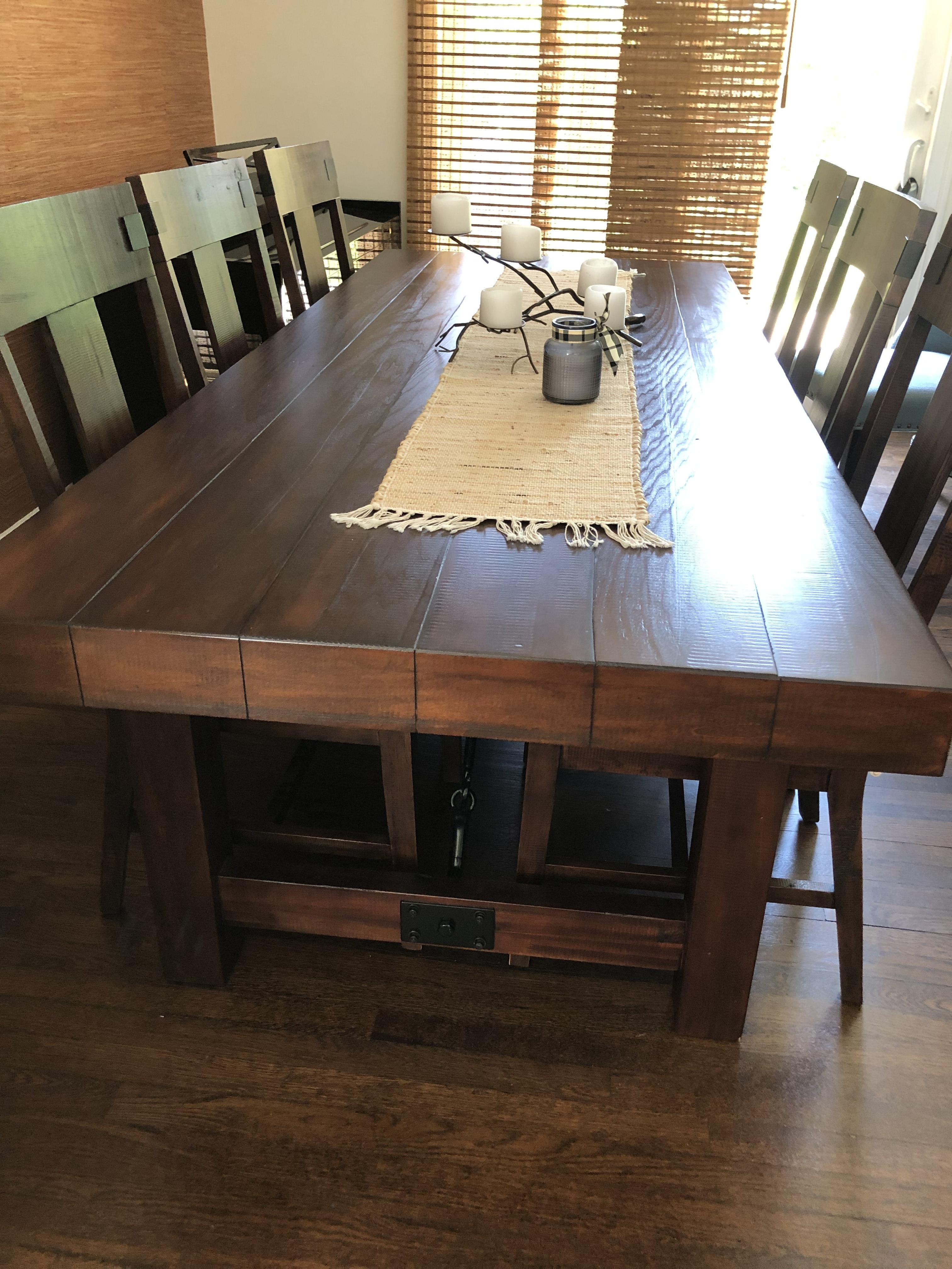 Pier 1 Dining Table w/ 6 Chairs