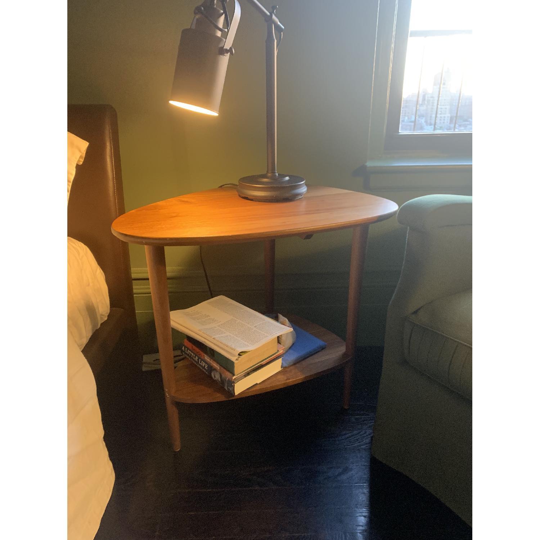 Room & Board Walnut End Table - image-1