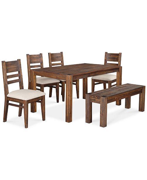 Macy's Avondale 6-Piece Dining Set