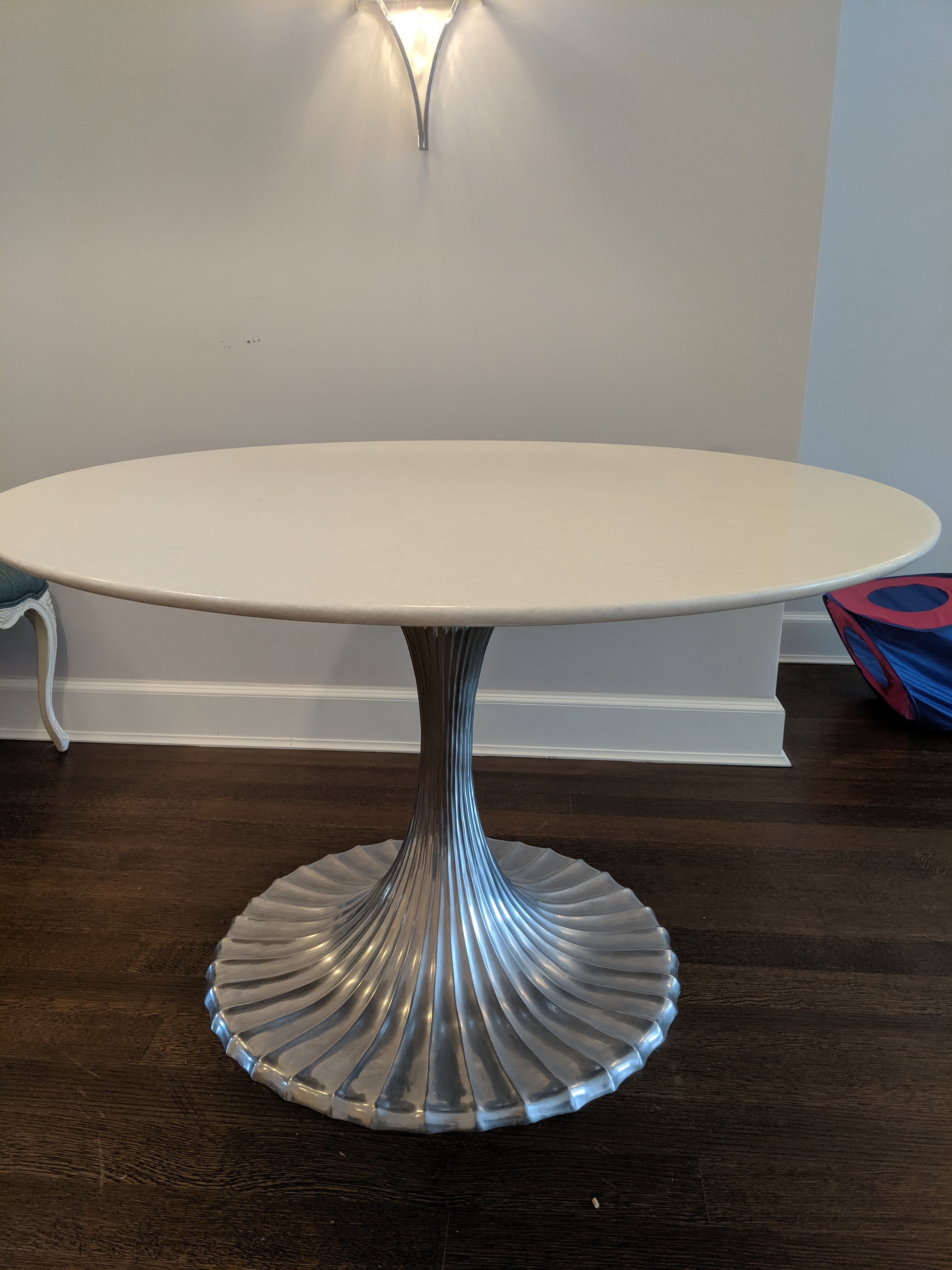 Horchow Marble Tulip Dining Table