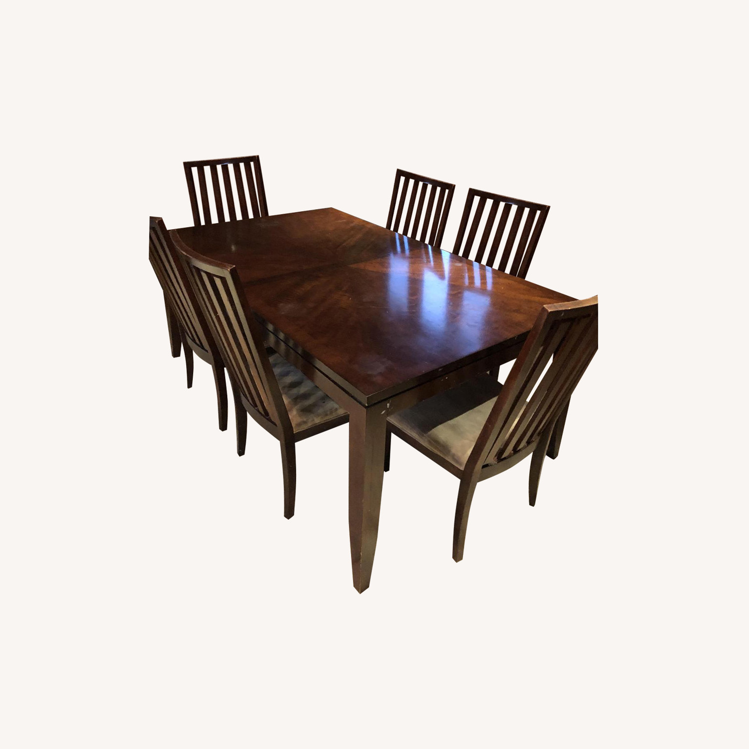 Raymour & Flanigan 10-Piece Expandable Dining Set