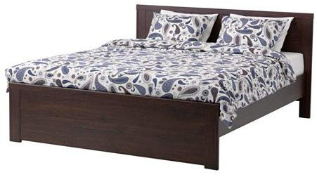 Ikea Brusali Queen Bed Frame