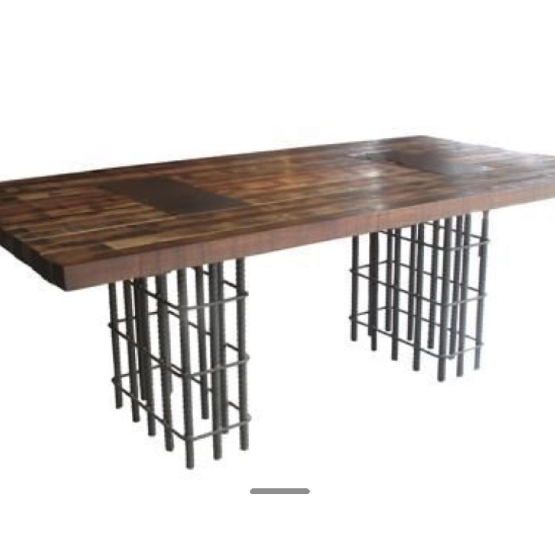 Environment Rebar Dining Table - image-0
